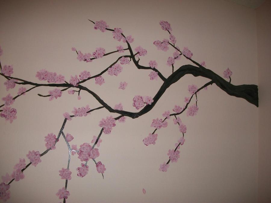 cherry blossom branch - photo #5