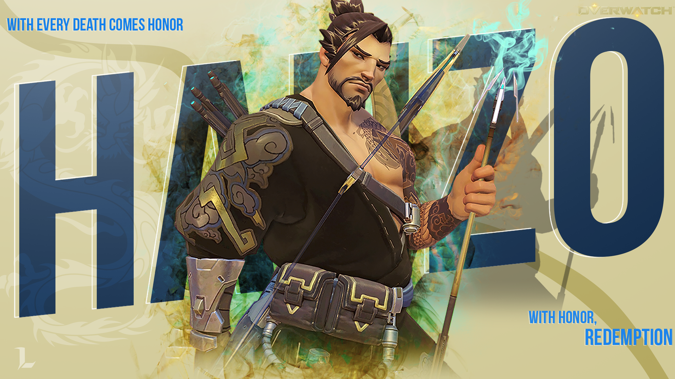 Hanzo Wallpaper 2560X1440 By