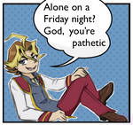 .:Yugioh:. - Alone on a friday night? by RAVEN0ID