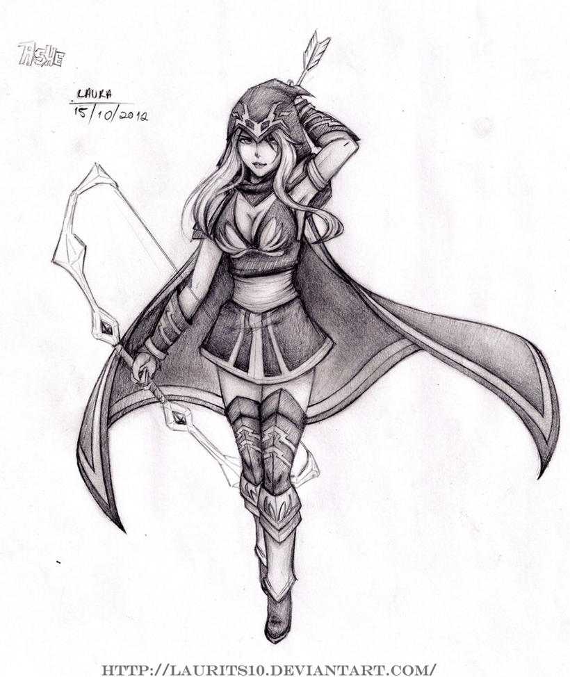 Ashe - League of Legends by Laurits10 on DeviantArt