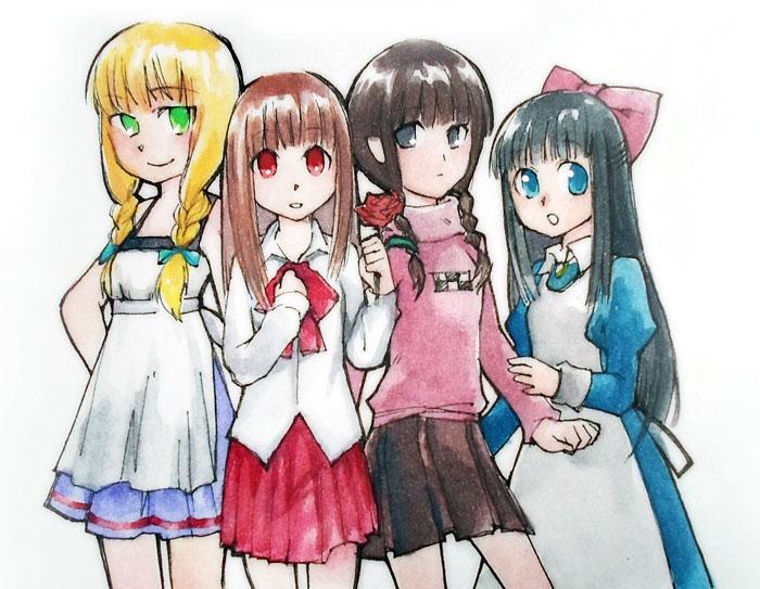 girls of horror by tama-lynn