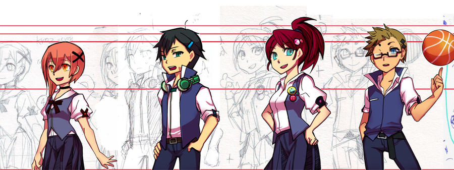 [TO Day] charactor sheet by tama-lynn