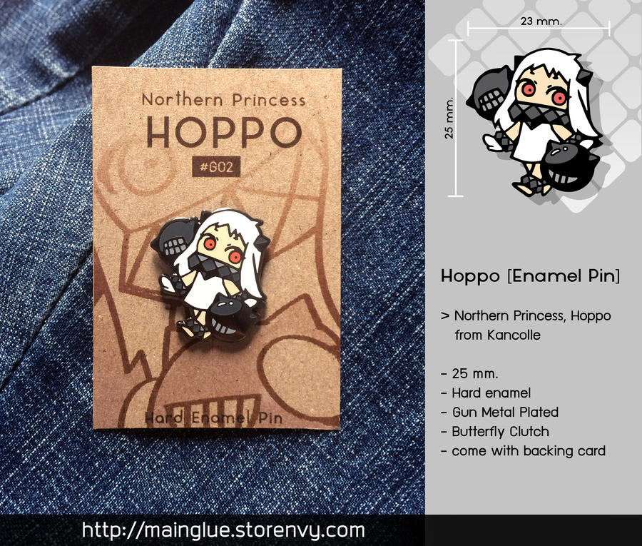 Hoppo [Enamel Pin] by tama-lynn
