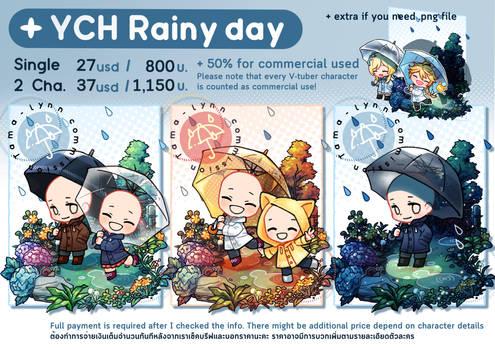 YCH Rainy day