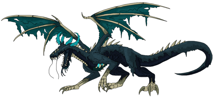 Warden Dragon / Sculk Dragon