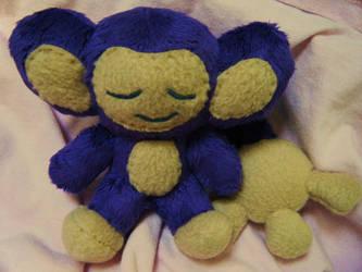 Sleepy Aipom Plush by Pickelicious