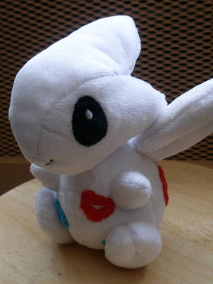 Togetic Plushie by Pickelicious