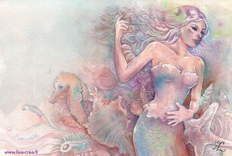 Little Mermaid by psychoquak