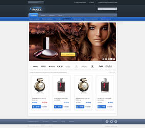Online Mall home page