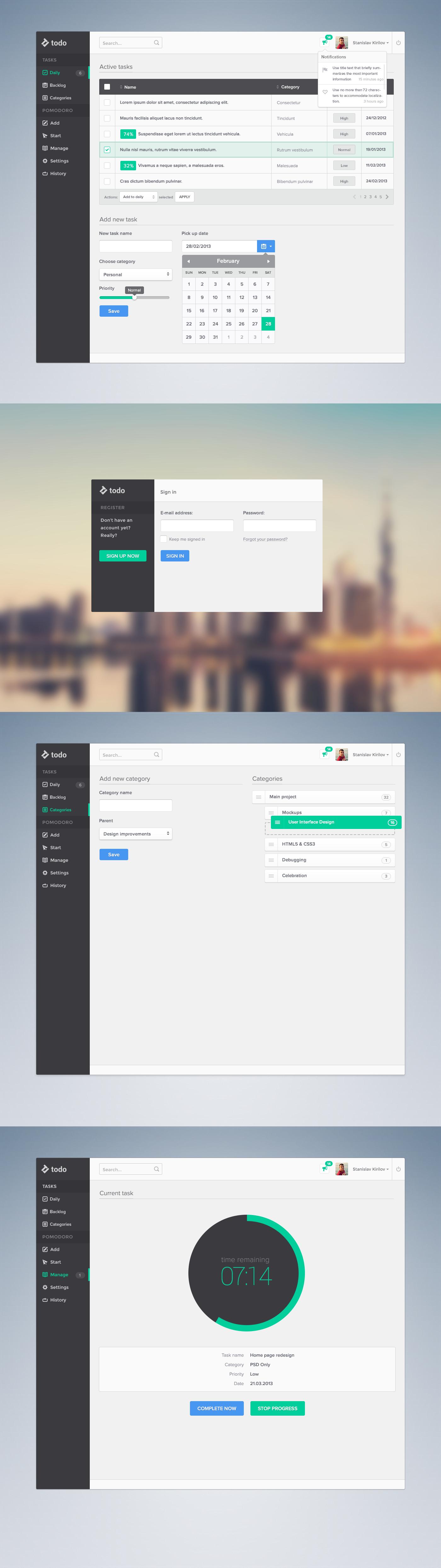 Productivity Platform by skirilov
