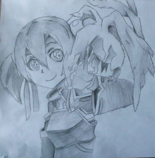 Drawing #17 - Silica and Pina - Sword Art Online by ClassicalKezza ...