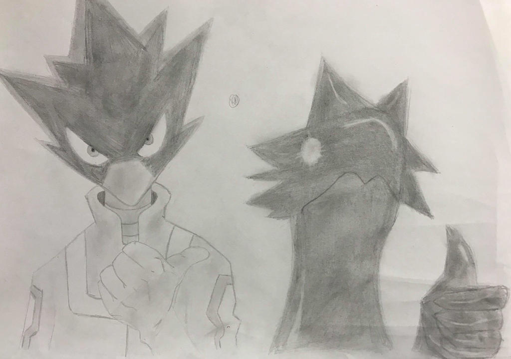 Drawing 35 Fumikage Tokoyami My Hero Academia By