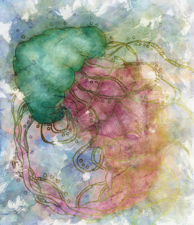 Watermelon Jellyfish by Nortiker