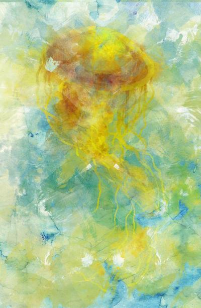 Lemon Jellyfish by Nortiker