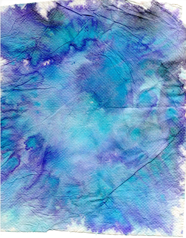 Dyed Paper Towel by Nortiker