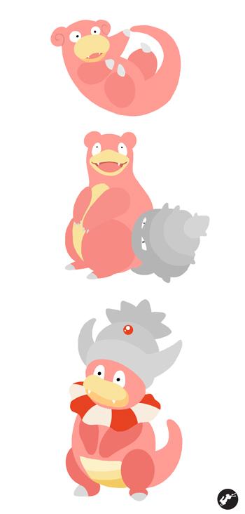 Pokemon Evolution Slowbro Pokemon Images | Pokemon Images