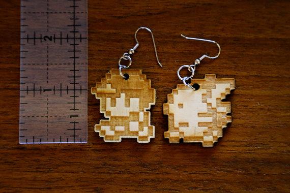 -Etsy- Ash and Pikachu Earrings by Nortiker