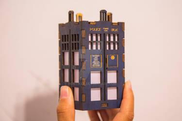 Super Small TARDIS Lantern