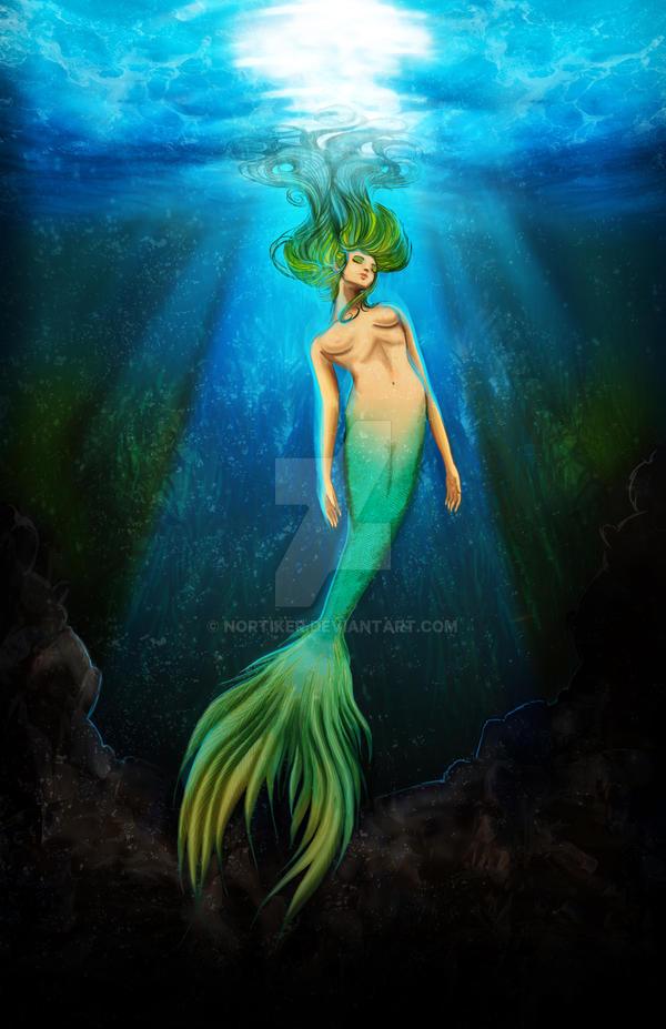 Mermaid by Nortiker