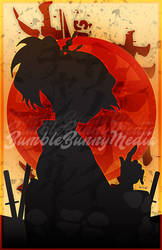 Samurai Champloo Silhouette Posters - Mugen