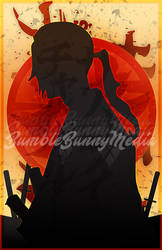 Samurai Champloo Silhouette Posters - Jin