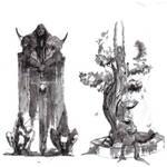 Guild Wars ink Wash