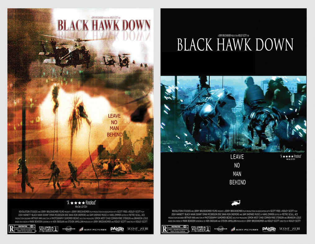black hawk down propoganda Collateral brain damage the hollywood propaganda ministry by alex constantine, scheduled for the july 2003 issue of high times without censorship, things can.