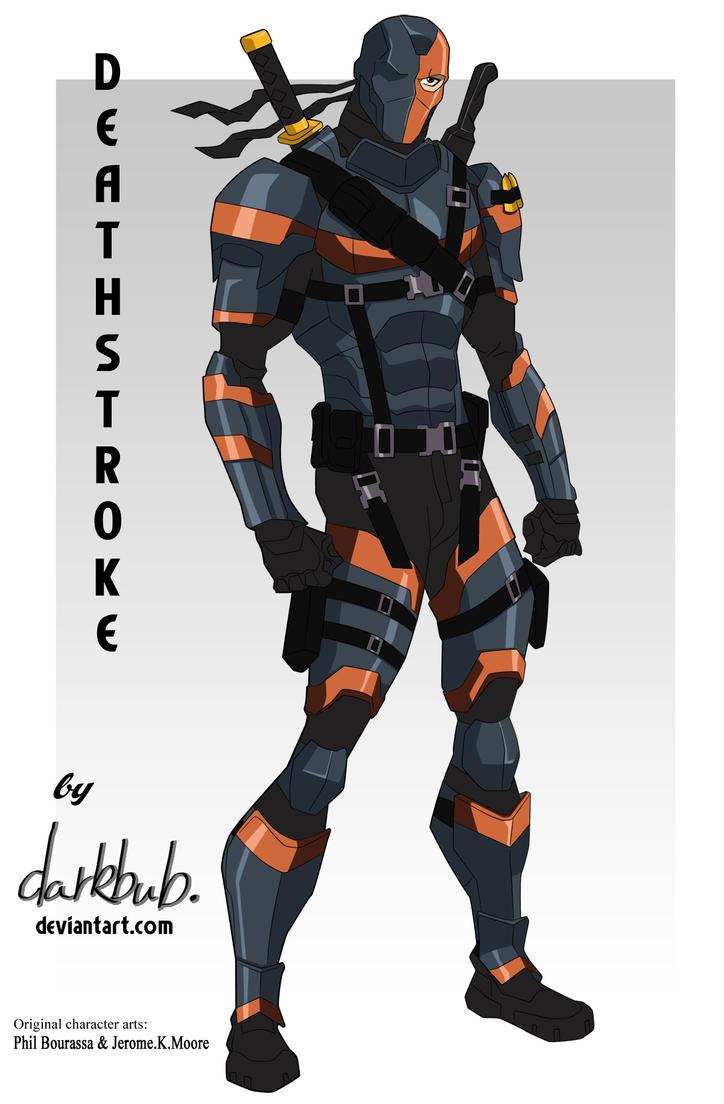 Deathstroke Movieverse (Young Justice stlye) by dark-BuB ...