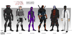 Black Mask's Assassins  (Young Justice style)