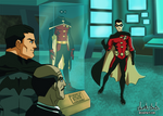 New Robin - TimDrake- Young Justice Style