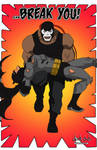 Bane breaks the Bat - Young Justice style