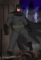 The Batman 2017 - Young Justice style by dark-BuB