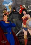 Justice League Movie verse 2017