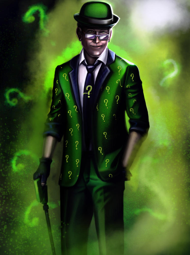 Welcome to your doom - Page 2 The_riddler_by_demidevil13-d4j6bt8