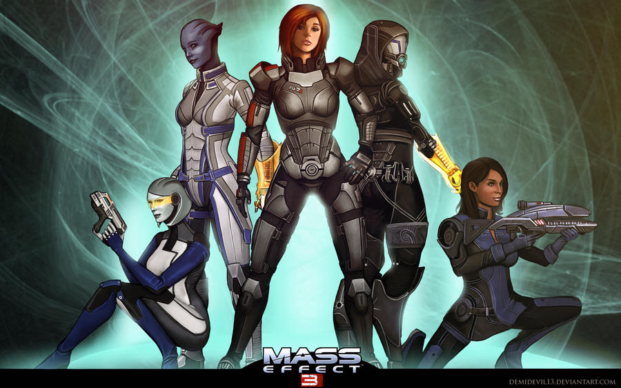 Mass Effect 3 by demidevil13