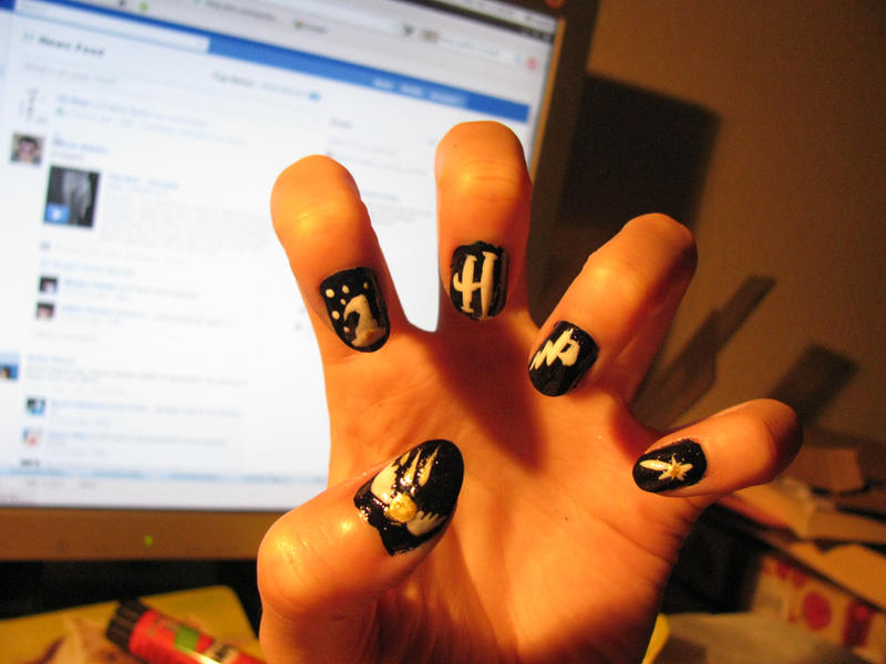 Harry Potter nails by Sophie-shoots