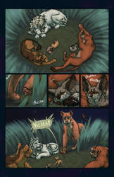 April Fools page of Lost Crown by ADragonSoulArt