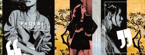 Timeline # Phoebe Tonkin 10 by UrbanFlowerGraphic