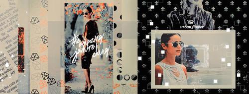 Timeline # Jamie Chung by UrbanFlowerGraphic