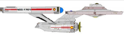 My COMPLETED More TOS Looking Phase II Enterprise  by Kal-el4