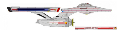 My COMPLETED TOS Phase III Enterprise  by Kal-el4