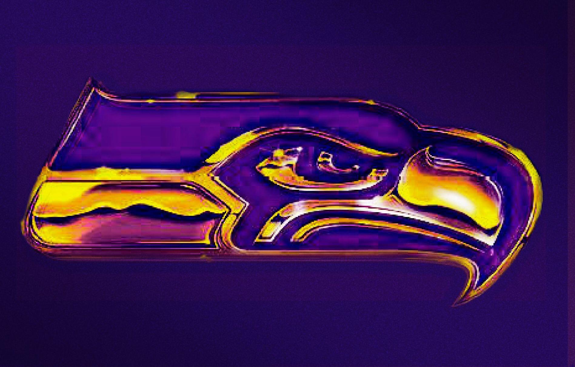 New Seattle Seahawks Logo In Uw Husky Colors By Kal El4 On Deviantart