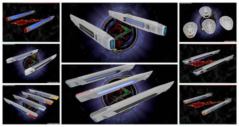 Collage of Nacelles