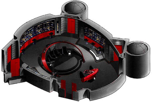 1701 D A Bridge With Helm Ops Console