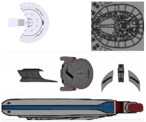 Cosmos Class Hull Components
