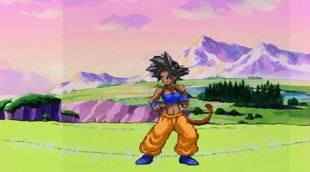 Son Leek Daughter of Goku and Kale