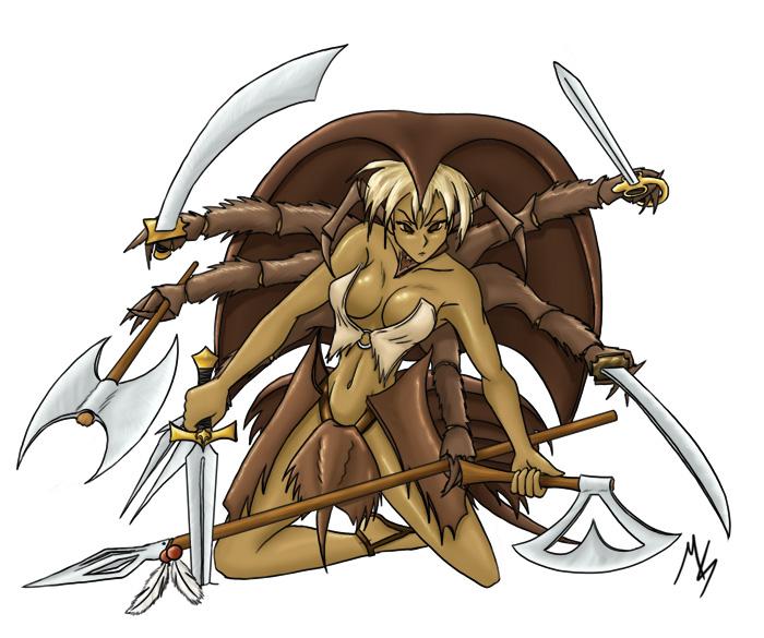 Horseshoe Crab Attack Horseshoe Crab Girl by