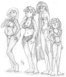 Yet More Bikini Girls