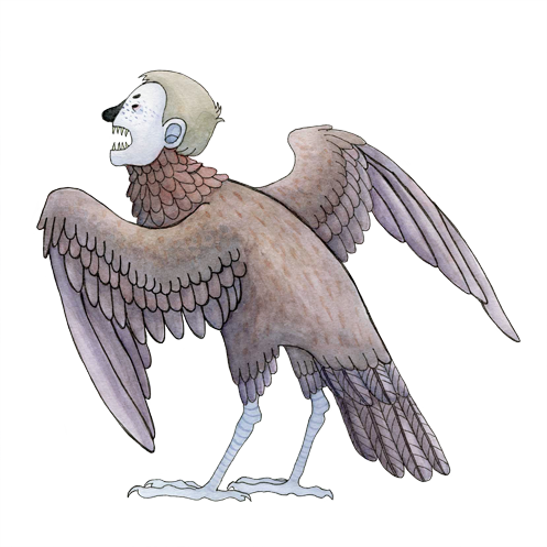 Harpy ID by Paratonia