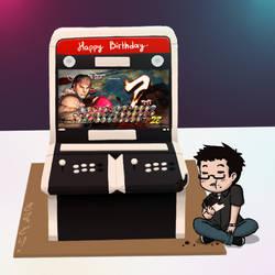 Birthday Cake~ by kimidori-no-neko